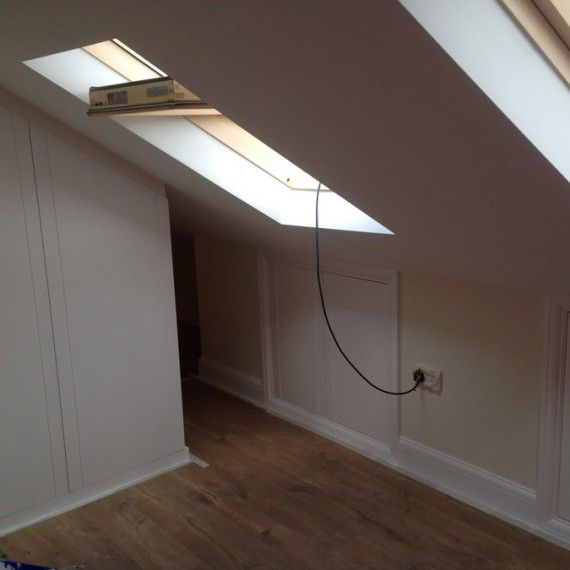 Convert your loft into a beautiful room